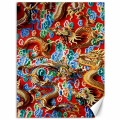 Dragons China Thailand Ornament Canvas 36  x 48
