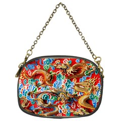 Dragons China Thailand Ornament Chain Purses (One Side)