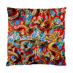 Dragons China Thailand Ornament Standard Cushion Case (One Side)