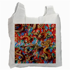 Dragons China Thailand Ornament Recycle Bag (Two Side)