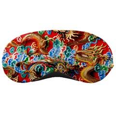 Dragons China Thailand Ornament Sleeping Masks