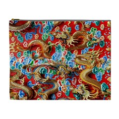 Dragons China Thailand Ornament Cosmetic Bag (XL)