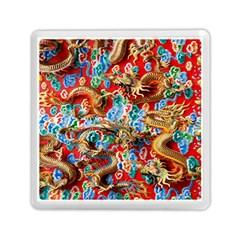 Dragons China Thailand Ornament Memory Card Reader (Square)