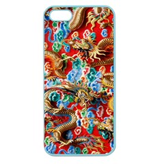 Dragons China Thailand Ornament Apple Seamless iPhone 5 Case (Color)