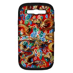 Dragons China Thailand Ornament Samsung Galaxy S III Hardshell Case (PC+Silicone)