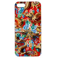 Dragons China Thailand Ornament Apple Iphone 5 Hardshell Case With Stand