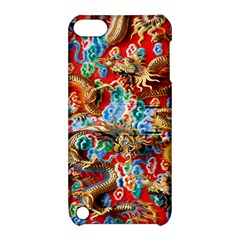 Dragons China Thailand Ornament Apple iPod Touch 5 Hardshell Case with Stand