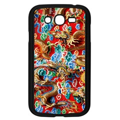Dragons China Thailand Ornament Samsung Galaxy Grand Duos I9082 Case (black)