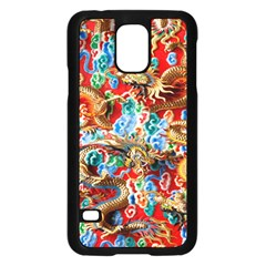 Dragons China Thailand Ornament Samsung Galaxy S5 Case (Black)