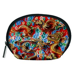 Dragons China Thailand Ornament Accessory Pouches (medium)
