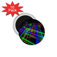 Electronics Board Computer Trace 1 75  Magnets (10 Pack)