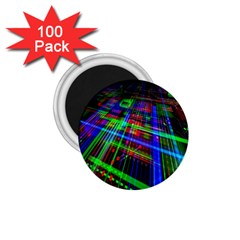 Electronics Board Computer Trace 1.75  Magnets (100 pack)