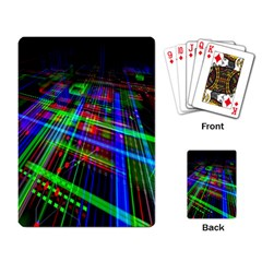 Electronics Board Computer Trace Playing Card