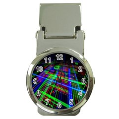 Electronics Board Computer Trace Money Clip Watches