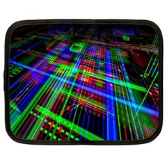 Electronics Board Computer Trace Netbook Case (Large)