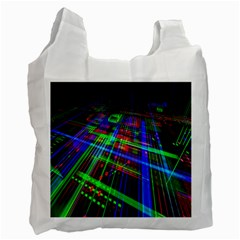 Electronics Board Computer Trace Recycle Bag (Two Side)