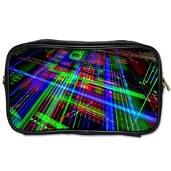 Electronics Board Computer Trace Toiletries Bags 2-Side