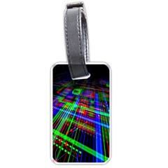 Electronics Board Computer Trace Luggage Tags (Two Sides)