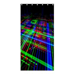 Electronics Board Computer Trace Shower Curtain 36  x 72  (Stall)