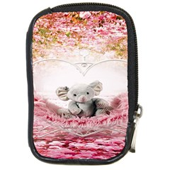 Elephant Heart Plush Vertical Toy Compact Camera Cases