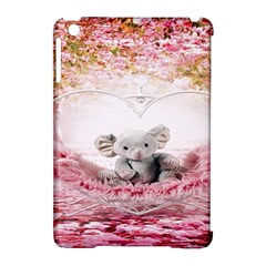 Elephant Heart Plush Vertical Toy Apple iPad Mini Hardshell Case (Compatible with Smart Cover)