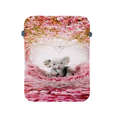 Elephant Heart Plush Vertical Toy Apple Ipad 2/3/4 Protective Soft Cases