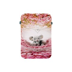 Elephant Heart Plush Vertical Toy Apple Ipad Mini Protective Soft Cases