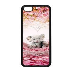 Elephant Heart Plush Vertical Toy Apple Iphone 5c Seamless Case (black)