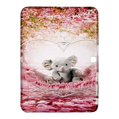 Elephant Heart Plush Vertical Toy Samsung Galaxy Tab 4 (10.1 ) Hardshell Case