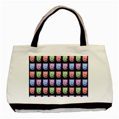 Email At Internet Computer Web Basic Tote Bag