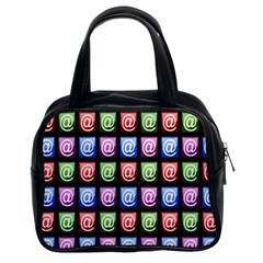Email At Internet Computer Web Classic Handbags (2 Sides)