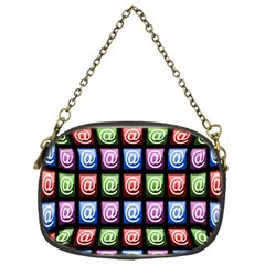 Email At Internet Computer Web Chain Purses (One Side)