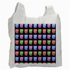 Email At Internet Computer Web Recycle Bag (Two Side)