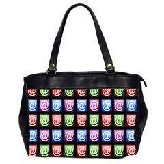 Email At Internet Computer Web Office Handbags (2 Sides)