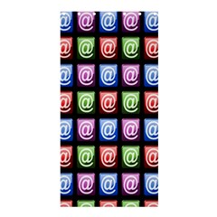 Email At Internet Computer Web Shower Curtain 36  x 72  (Stall)