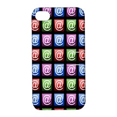 Email At Internet Computer Web Apple Iphone 4/4s Hardshell Case With Stand