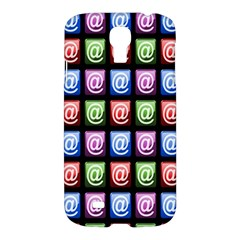Email At Internet Computer Web Samsung Galaxy S4 I9500/I9505 Hardshell Case