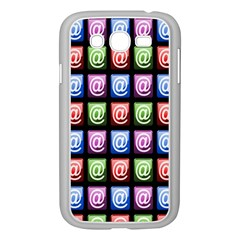 Email At Internet Computer Web Samsung Galaxy Grand DUOS I9082 Case (White)