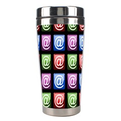 Email At Internet Computer Web Stainless Steel Travel Tumblers