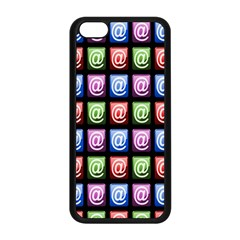 Email At Internet Computer Web Apple Iphone 5c Seamless Case (black)