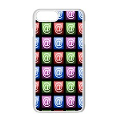 Email At Internet Computer Web Apple iPhone 7 Plus White Seamless Case