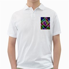 Embroidered Fabric Pattern Golf Shirts