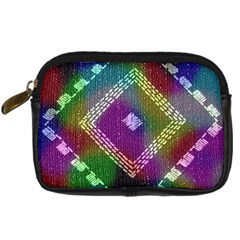 Embroidered Fabric Pattern Digital Camera Cases