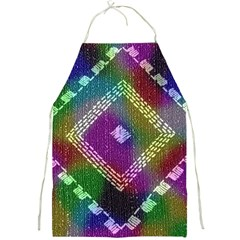 Embroidered Fabric Pattern Full Print Aprons