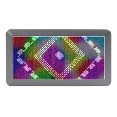 Embroidered Fabric Pattern Memory Card Reader (mini)