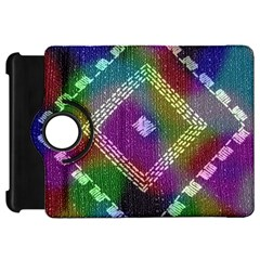 Embroidered Fabric Pattern Kindle Fire Hd 7
