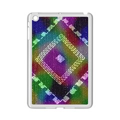 Embroidered Fabric Pattern Ipad Mini 2 Enamel Coated Cases