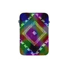 Embroidered Fabric Pattern Apple Ipad Mini Protective Soft Cases