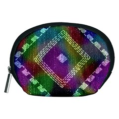 Embroidered Fabric Pattern Accessory Pouches (medium)
