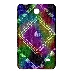 Embroidered Fabric Pattern Samsung Galaxy Tab 4 (7 ) Hardshell Case